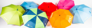 Uber Brolly Promotional Umbrella Collection