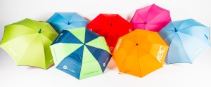 Collection of Promotional Umbrellas