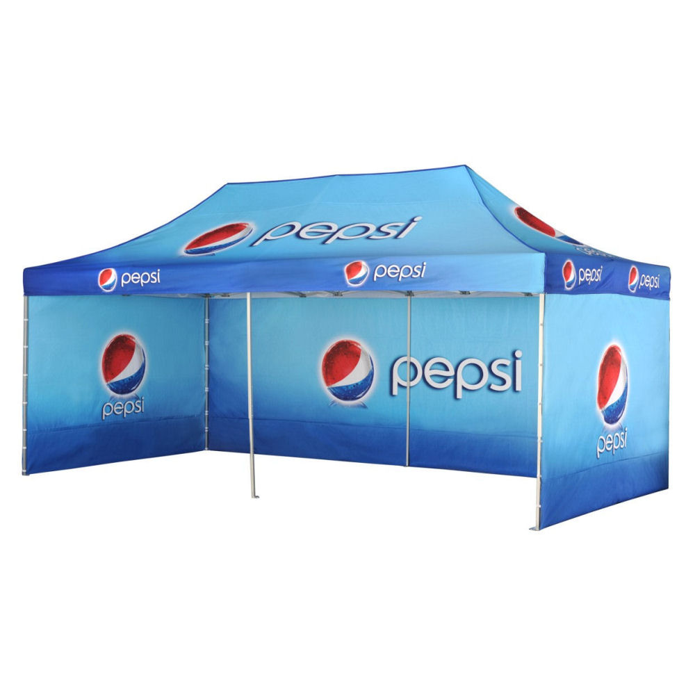 Umbrellas & Parasols steel foldable branded gazebo