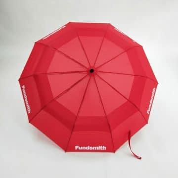 Canopy Only Open Branded Umbrellas Vented Telescopic Umbrella