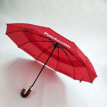 Canopy Branded Umbrellas Vented Telescopic Umbrella