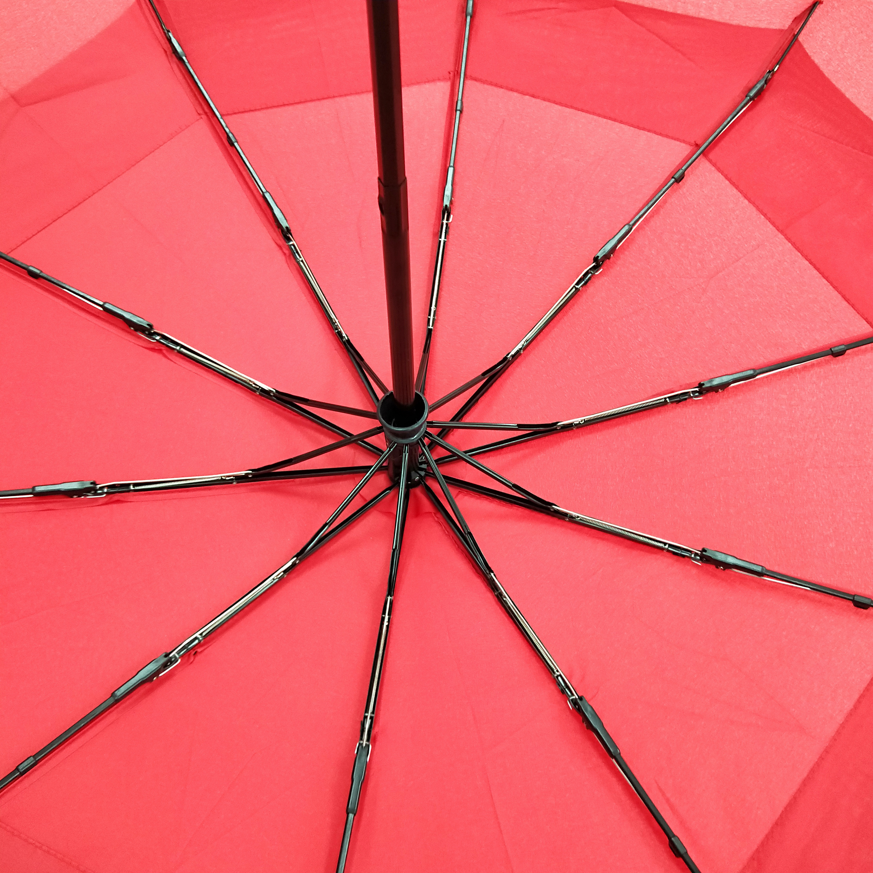 Ribs Branded Umbrellas Vented Telescopic Umbrella