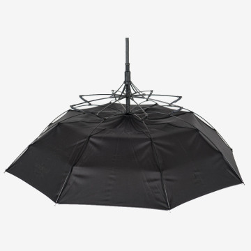 Extendible ribs on our Fibre-Storm walker umbrella part of our Über Brolly range