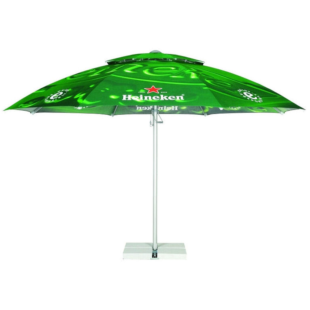 Umbrellas & Parasols Promotional Budget Steel Parasol