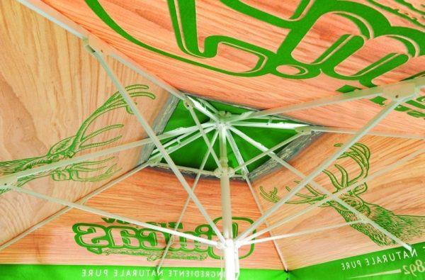 Umbrellas & Parasols Aluminium Promotional Parasol Ribs