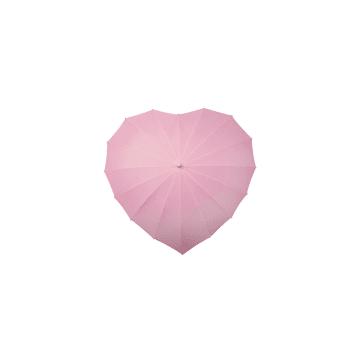 heart pink umbrella by umbrellas and parasols