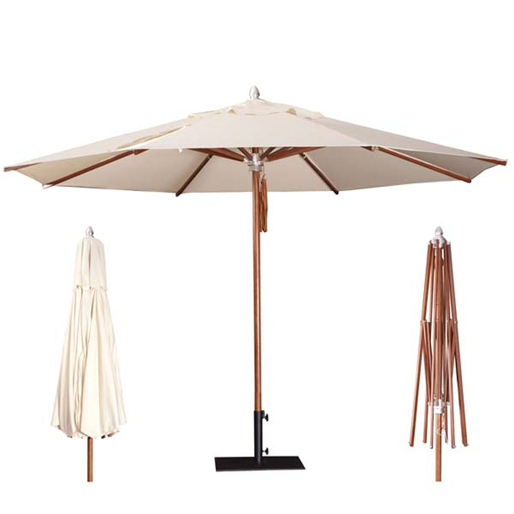 umbrellas parasols wooden round parasol. Black Bedroom Furniture Sets. Home Design Ideas