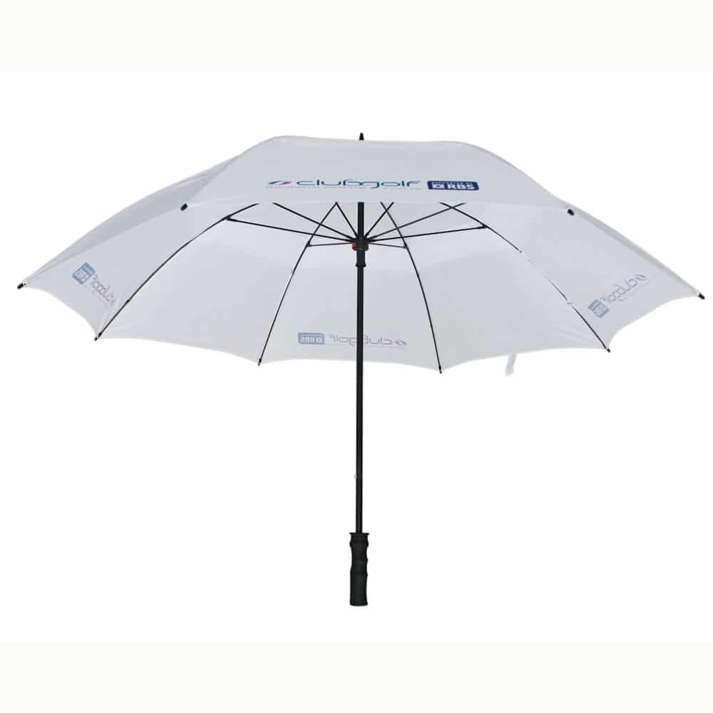 Über Vented Golf branded umbrella