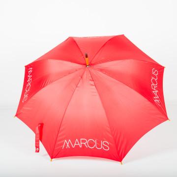 Canopy of Budget Wooden Walker Promotional Umbrella
