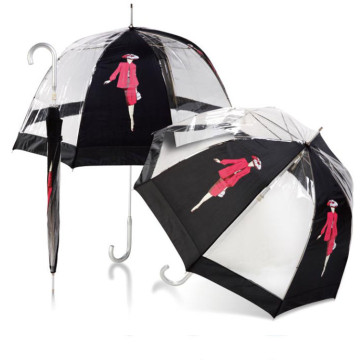 Umbrellas & Parasols PVC Dome Walker Branded Umbrella