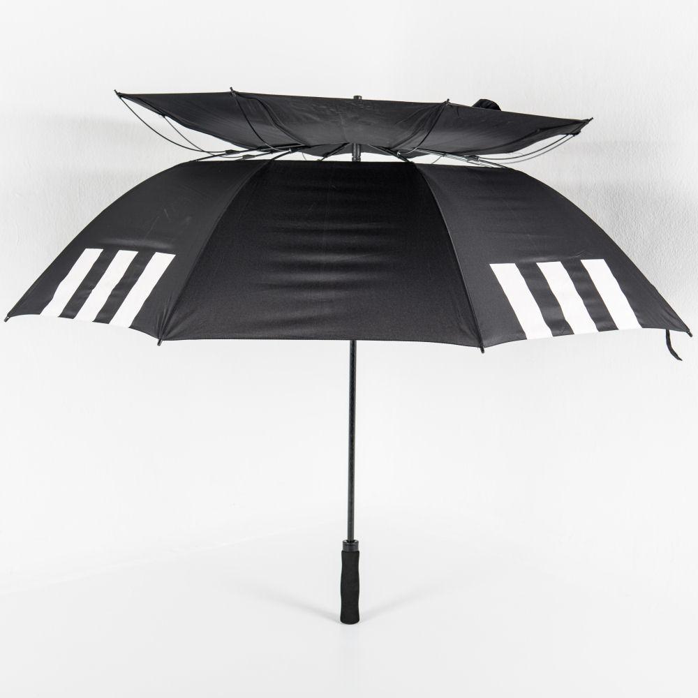 Vented canopy of Über Brolly Über Golf Branded Umbrella