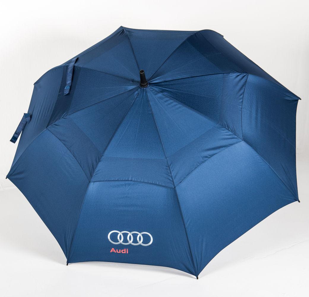 Über Brolly Vented Golf branded umbrella's canopy