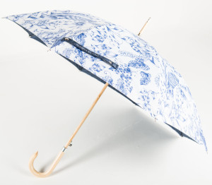Über Wooden Walker Branded Umbrella from Umbrella & Parasols