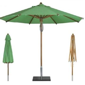 Umbrellas & Parasols Teak Branded Parasol