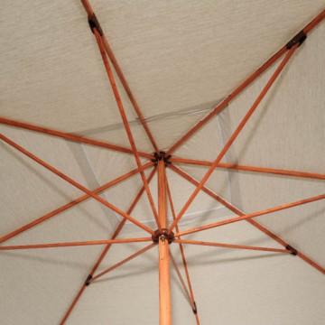 Umbrellas & Parasols Teak Promotional Parasol Ribs