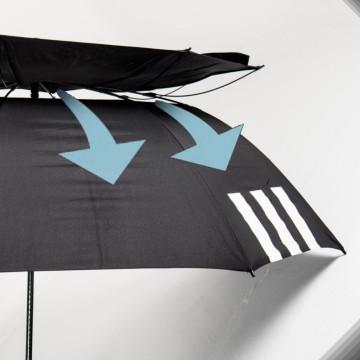 vented branded golf umbrellas