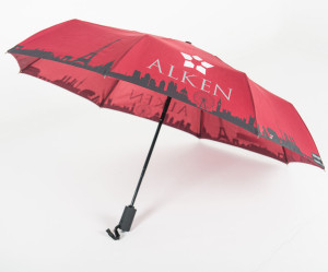 Umbrellas & Parasols Telescopic branded umbrella