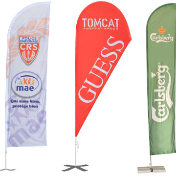 Umbrellas & Parasols Promotional Banner Flags