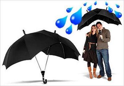 Umbrellas & Parasols Dual Promotional Umbrella