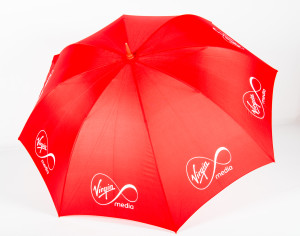 Branded Umbrella with Spot Colour Printing