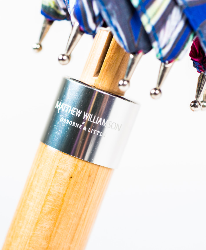 Branded Umbrella Printed or Engraved Metal Collar