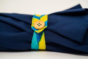 Branded Umbrellas Button Tie Wrap