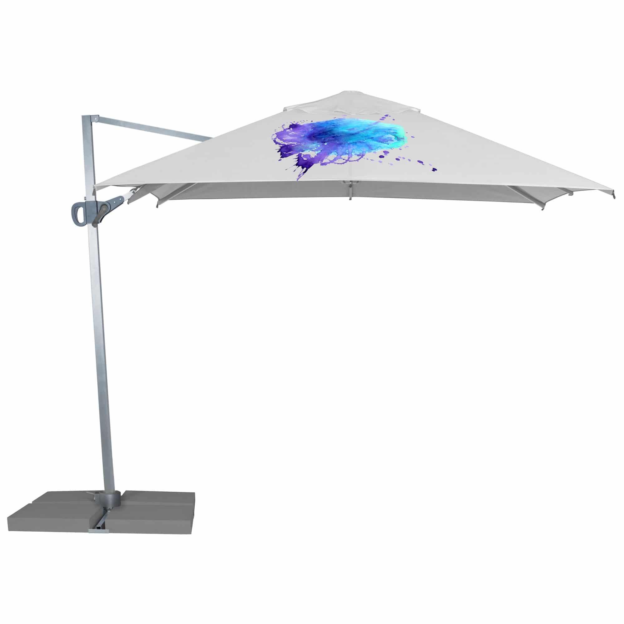 Branded Parasols 3m Cantilever