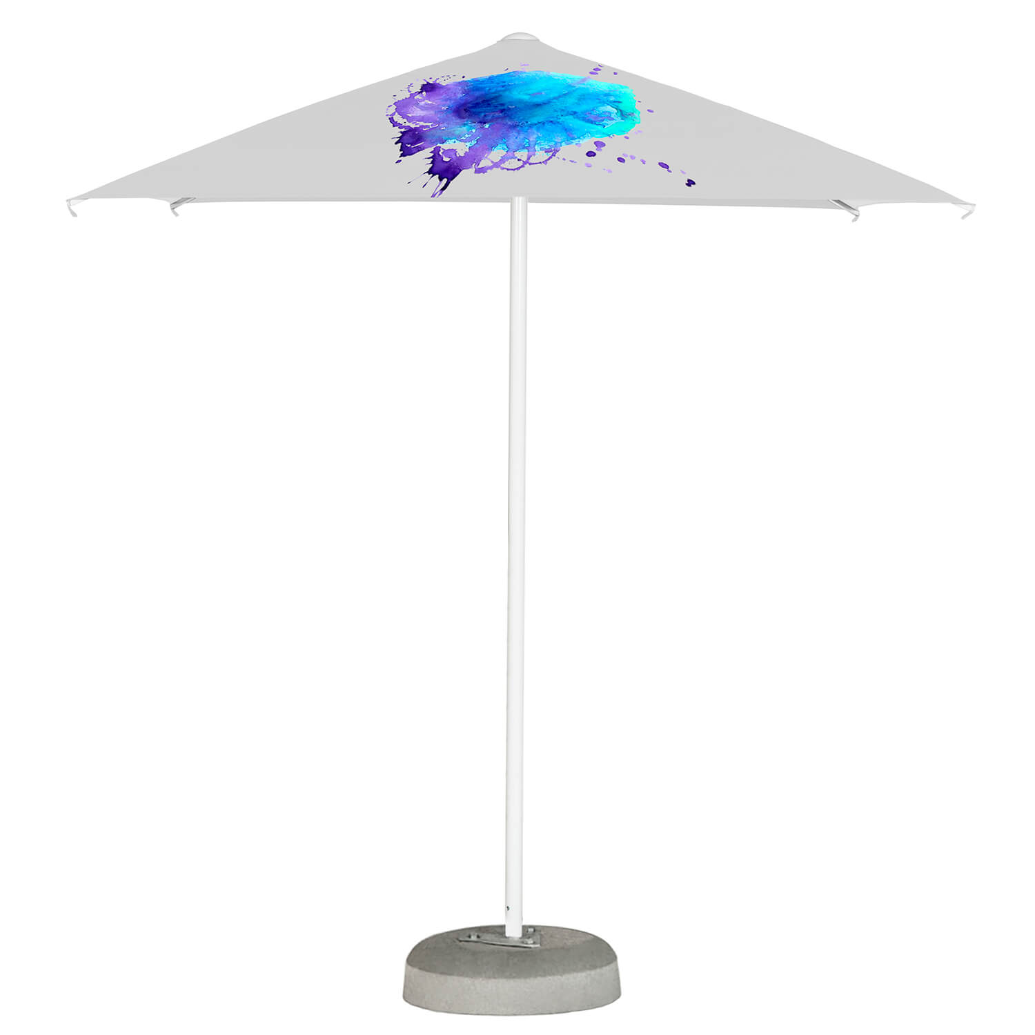 Printed Parasols Small Aluminium 2m x 2m without valance