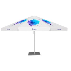 Printed Parasols Ultra Strong 5.5m with valance