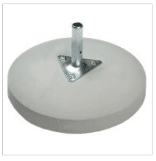 Branded parasols PD600M Concrete Base