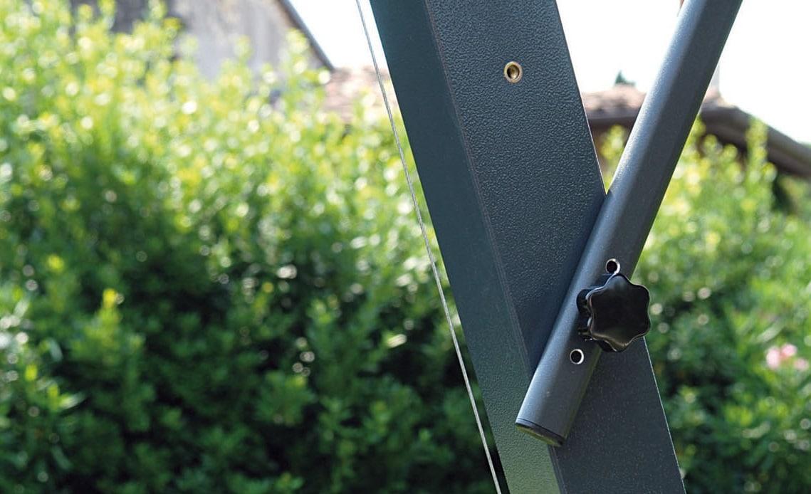 Branded Parasols Uber Aluminium CantileverSuppoprt Arm