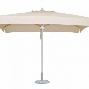 Promotional Parasols Uber White Aluminium Square Canopy