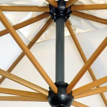 Printed Parasols Uber Wooden Cantilever Ribs