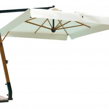 Printed Parasols Uber Wooden Cantilever - Square