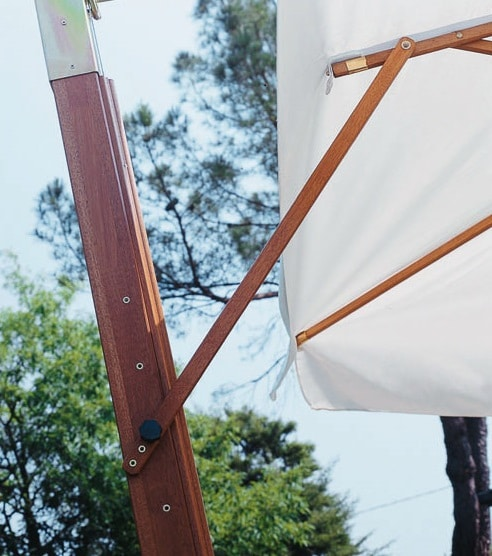 Printed Parasols Uber Wooden Cantilever Support Arm