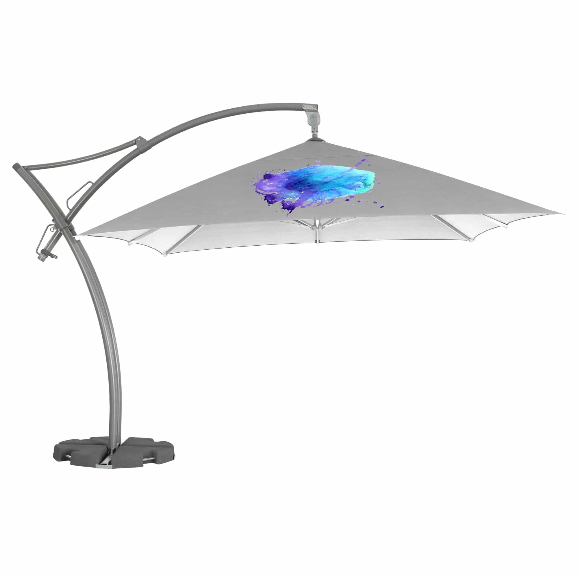 Large Cantilever Branded Parasols: Fully Printed ...