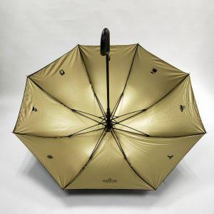 Branded Umbrellas Metallic Interior