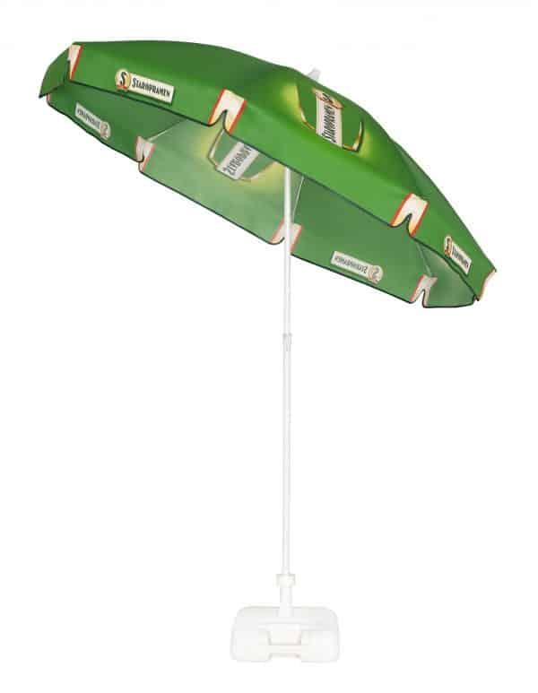 Branded parasols - Pub Parasol tilt