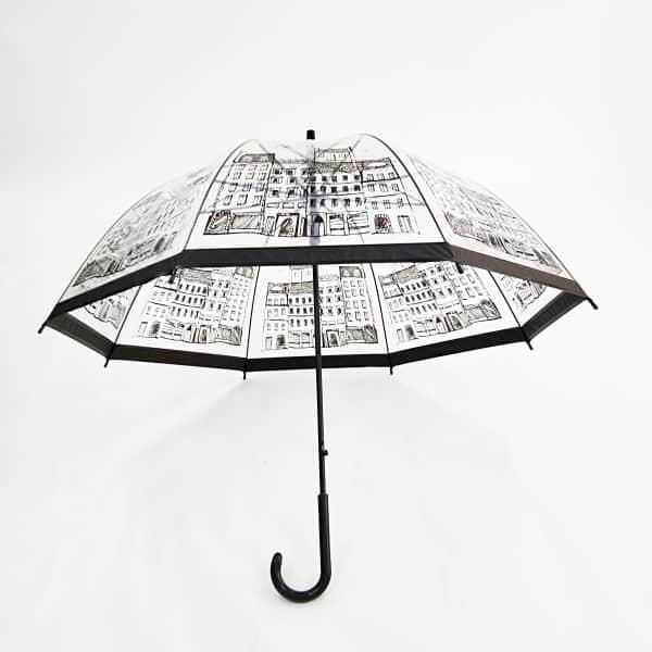 Branded Umbrellas – PVC Dome Automatic City Walker Umbrella