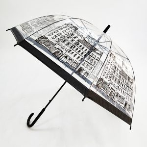 Promotional Umbrellas – PVC Dome Automatic City Walker Umbrella Printed