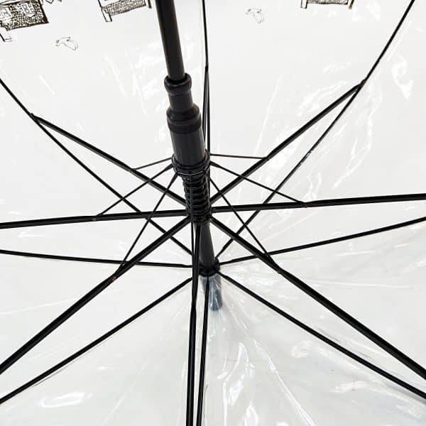Promotional Umbrellas – PVC Dome Automatic City Walker Umbrella Ribs