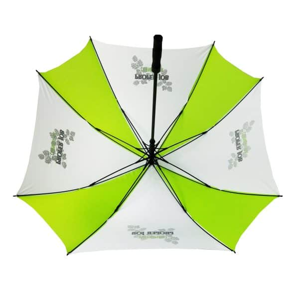 Printed Umbrellas - Uber Fibreglass Square Golf Interior