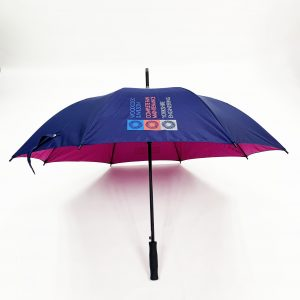 Branded Umbrellas - Uber Mini Fibreglass Automatic Golf