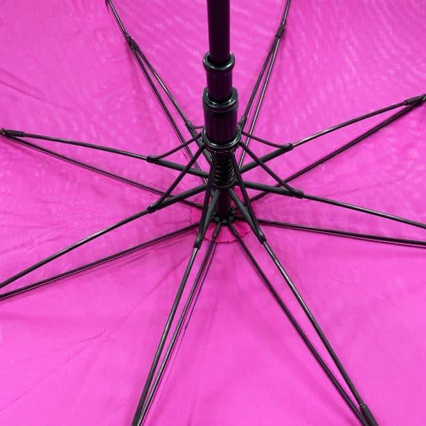 Printed Umbrellas - ribs of Uber Mini Fibreglass Automatic Golf