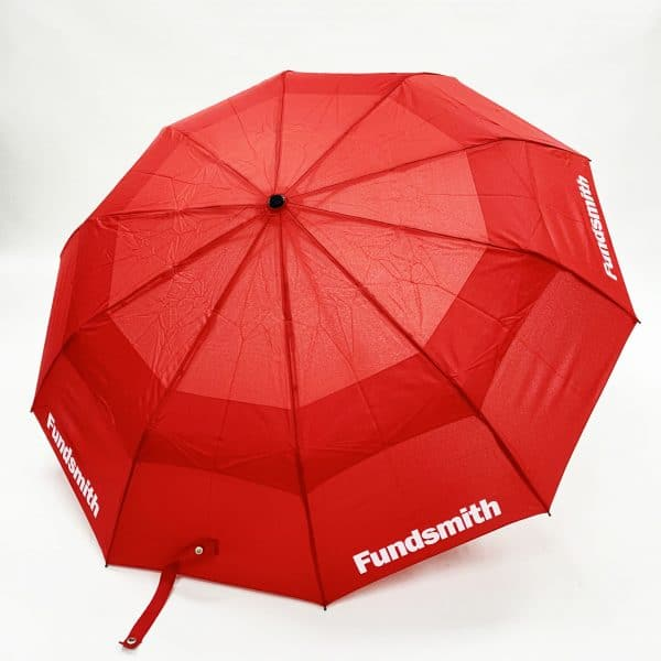 Branded Umbrellas – Uber Vented Automatic FibreStorm Telescopic