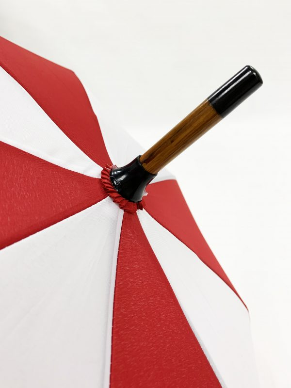 Branded Umbrellas Wooden City Walker End Cap
