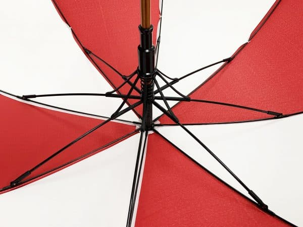 Branded Umbrellas Wooden City Walker Ribs