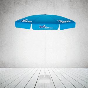 Commercial parasol - pub parasol round with valance