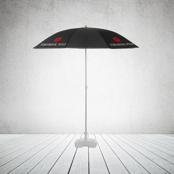 Commercial parasol - pub parasol round no valance