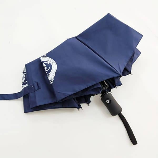 Promotional Umbrellas – Uber Automatic FibreStorm Telescopic - Closed